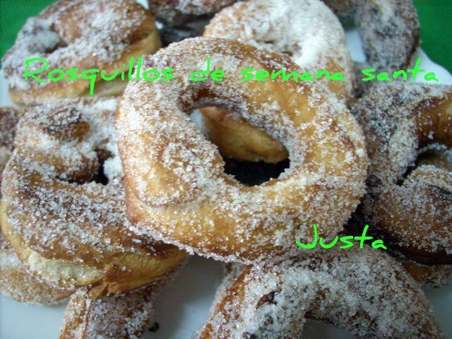 Rosquillas fritas Semana Santa