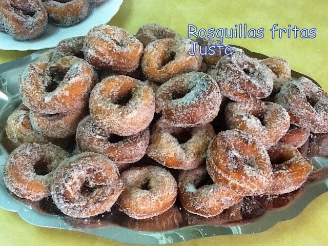 Rosquillas Fritas Semana Santa Postres Y Dulces Blog De