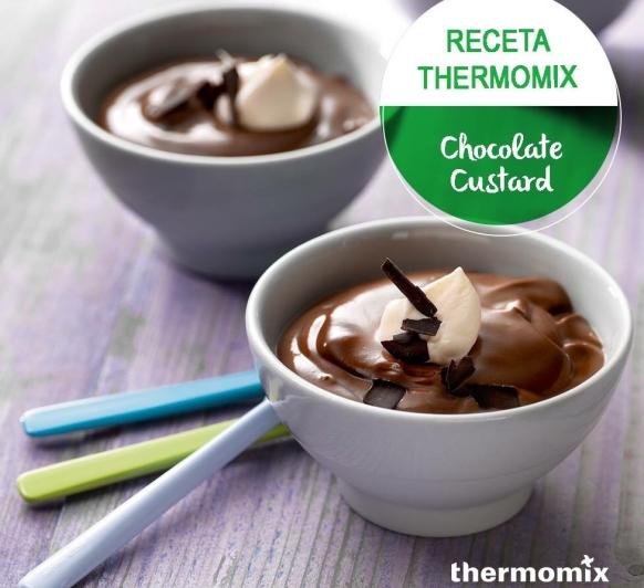Custard de Chocolate