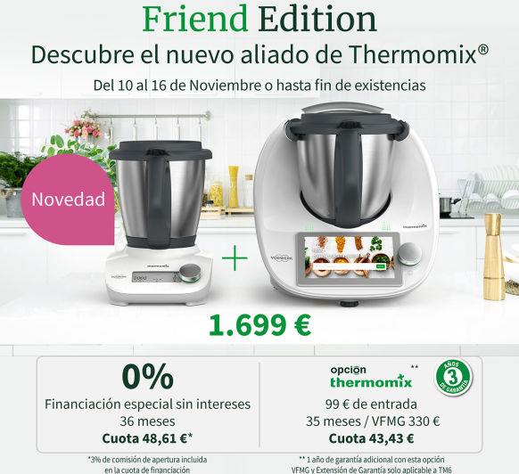 OS PRESENTAMOS Thermomix® FRIEND