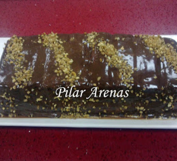 Pastel de turrón y chocolate con Thermomix® ; Pilar Arenas, Ciudad Real