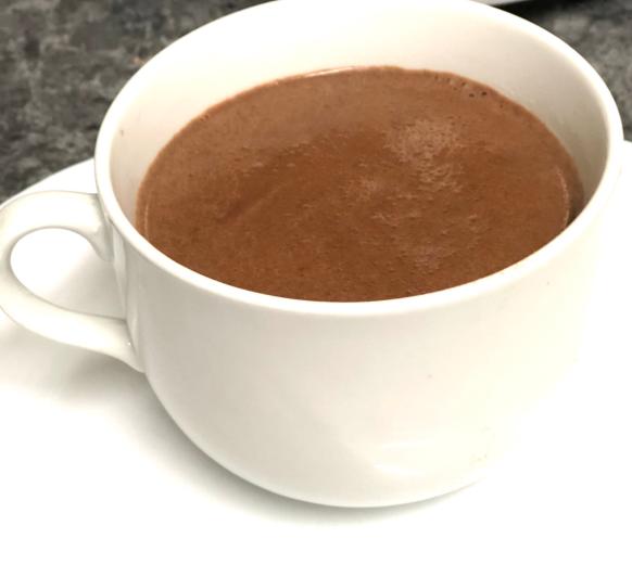 Chocolate a la taza con Thermomix® con dos ingredientes en solo 10 minutos