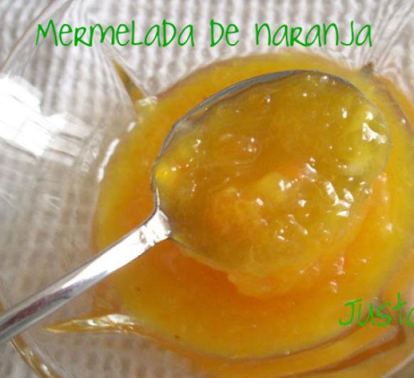 Mermelada de naranja Thermomix® Ciudad Real Justa Molina