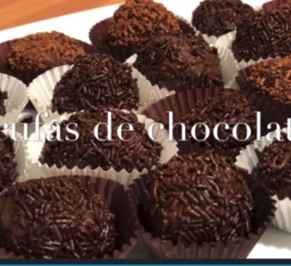 Trufas de chocolate Thermomix® Ciudad Real Justa Molina